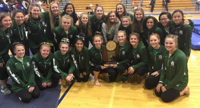 Niwot High School Gymnastics 2nd at State!