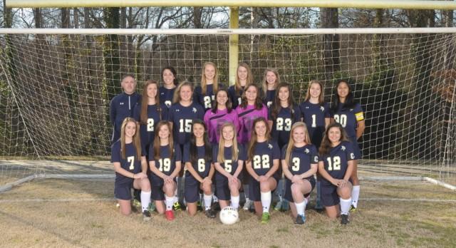 Girls Varsity Soccer defeats Byrnes 2-0