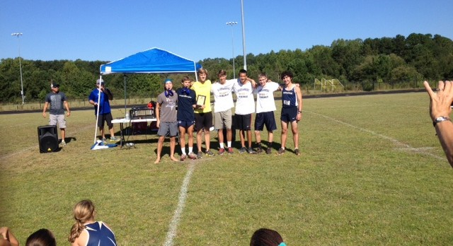Spartanburg High School Boys Varsity Cross Country finishes 2nd place
