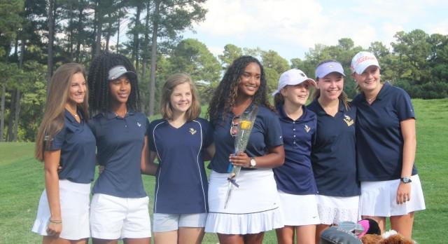 Spartanburg High School Girls Varsity Golf falls to Boiling Springs High School 164-194
