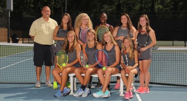 Girls tennis advance to the 3rd round of playoffs