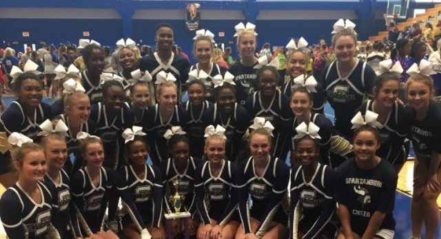 Competitive Cheer places 3rd at Region