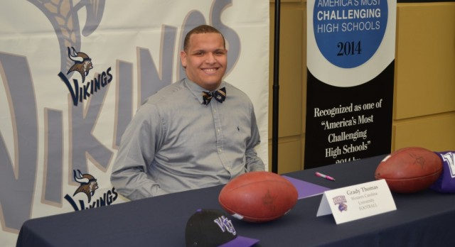 Grady Thomas commits to Western Carolina
