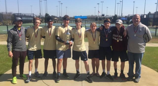 Varsity tennis wins Florence Tennis Association Tournament