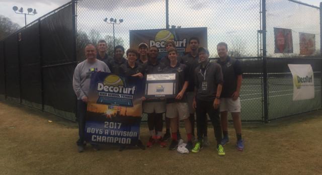 Boys tennis wins Deco-Turf National tournament
