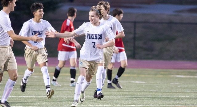 Spartanburg High School Boys Varsity Soccer beat Chapman High School 3-1