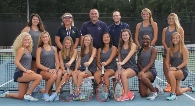 Girls Tennis wins 1st round playoff match