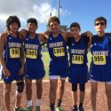 Moody Boys Cross Country Teams