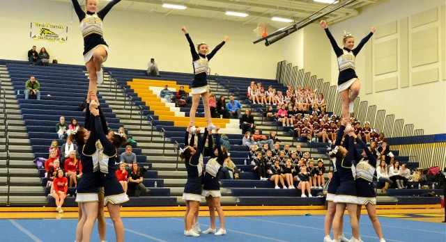 "Varsity Cheer team wins annual ""Mustang Invitational"""