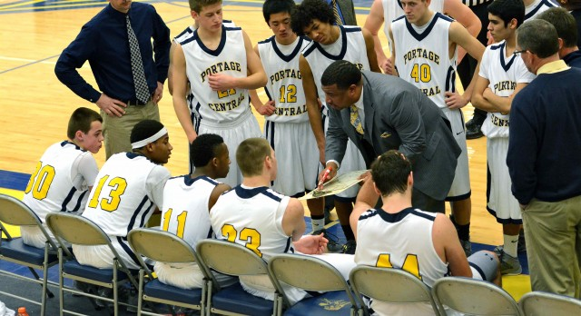 Boy's Basketball team opens District Tournament at home
