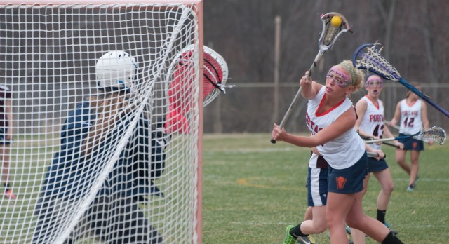 Women's Lacrosse defeats Harper Creek 14-3