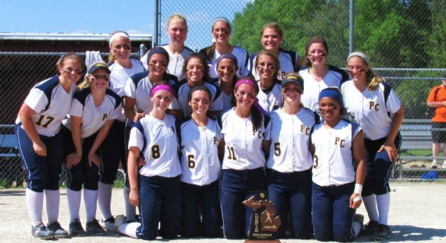 Softball team wins District Title