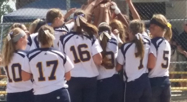 Softball team continues to roll – Wins Regional Championship