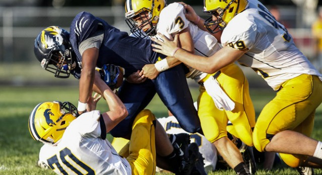 Portage Central Defeats Mattawan in Season Opener