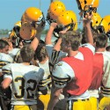 Varsity Football Intrasquad Scrimmage (Aug. 16, 2014)