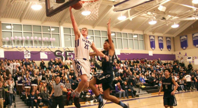 Cherokees Survive Scare at Home v. Carlmont