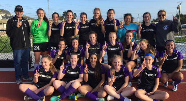 JV and Varsity Girls Soccer Crowned League Champs