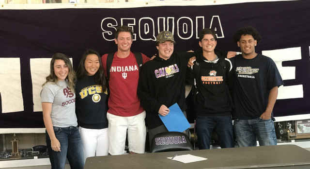 Six SEQ Athletes Sign National Letters of Intent