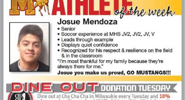 Congratulation to Jose Medoza