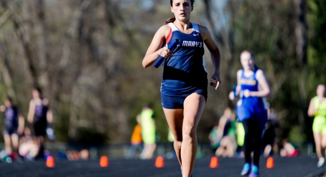 St. Mary's Takes 2nd and 5th Place Finishes at 18th Annual Crusader Relays