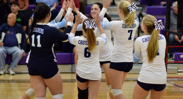 Crusader Volleyball Players Grab All SCL Honors
