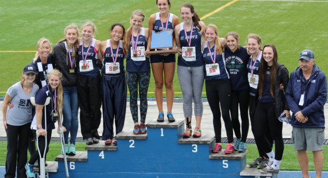 St. Mary's Girls Cross Country Wins State Title