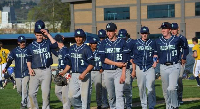 St. Mary's School Varsity Baseball beat Cascade Christian High School 18-0