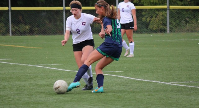 St. Mary's School Girls Varsity Soccer beat Cascade Christian High School 4-1