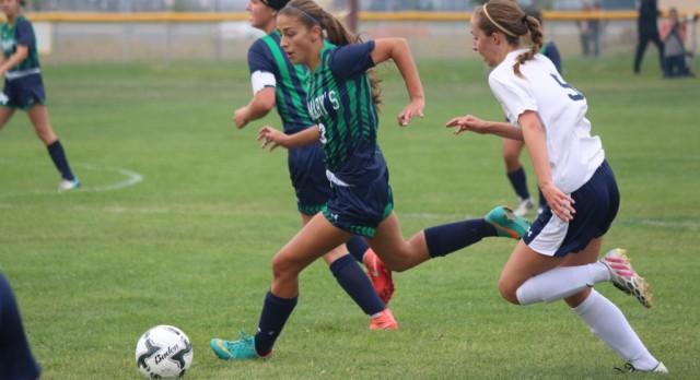 St. Mary's School Girls Varsity Soccer beat Henley High School 4-0