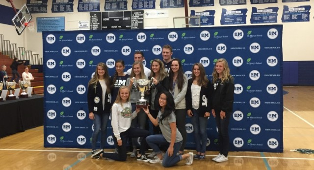 St. Mary's Receives Sixth Oregonian Cup