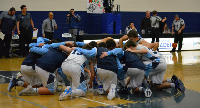 Boys Varsity Basketball Conquers the Illinois Valley Cougars