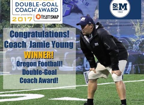 Coach Jamie Young Chosen as Positive Coach Alliance National Winner