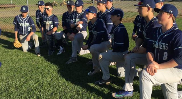 Crusader Baseball sweeps Harrisburg