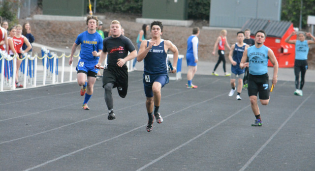 St. Mary's Track and Field Continues to Improve