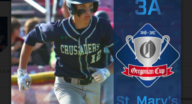St. Mary's awarded 7th Oregonian cup from OSAA