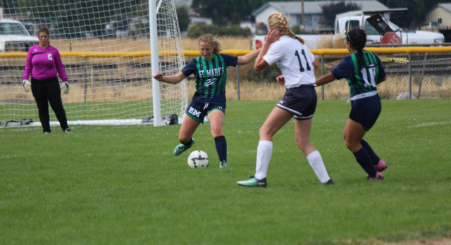 St. M Girl's Soccer vs. Cascade live today on Tablerock Sports