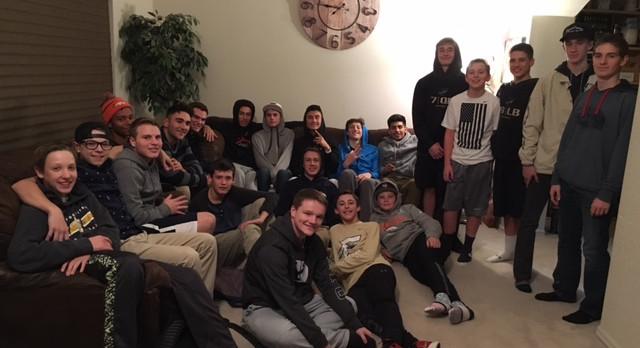 Boys Basketball Team Dinner #1