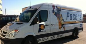 Pacer Fan Van