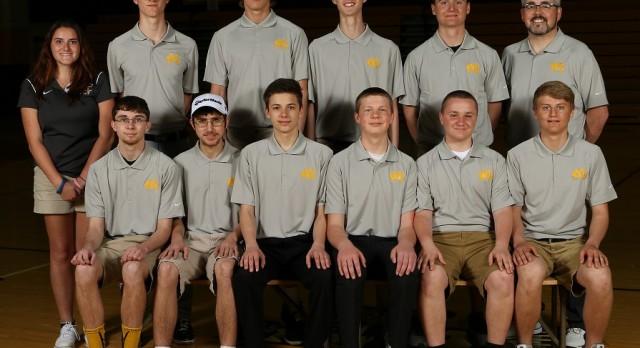 MC golf team wins regular season finale over Wes-Del