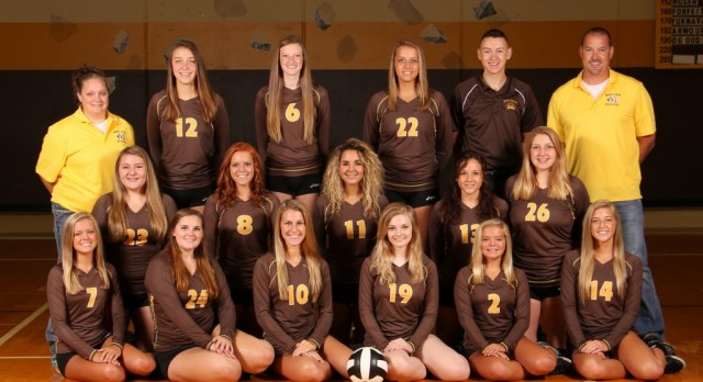 Lady Bears spike Northeastern; JV still undefeated