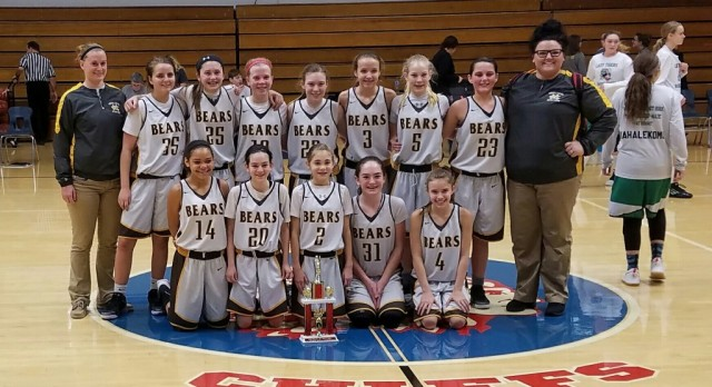 7th grade Lady Bears win East Jay Invitational