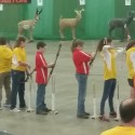 MC Archery team at Indiana State Fairgrounds