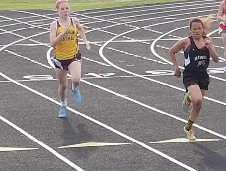 JH Ladies finish 2nd in County track meet