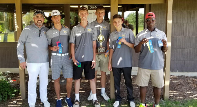 Bears take County golf title; 5 make All-County