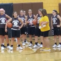 Girls Basketball practice officially underway