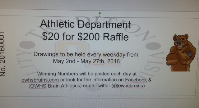 $20 for $200 Raffle