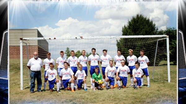Boys Striker Goal Team 8x10