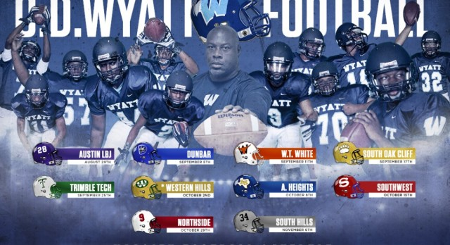 Wyatt Football 2015 Poster