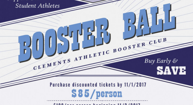 Booster Ball Early Bird Pricing ends Nov 1st