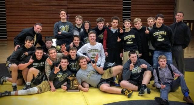 Wrestlers Win Team District